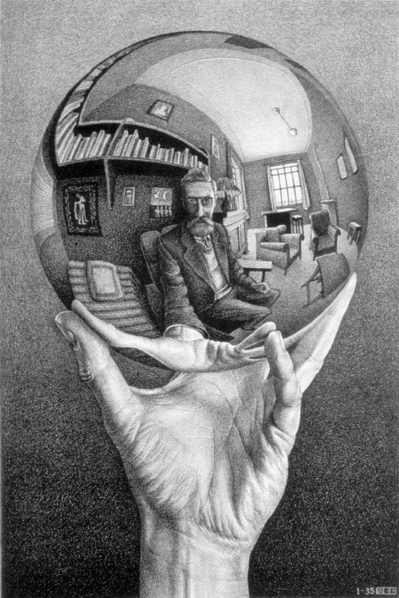 M.C. Escher, l'inventore del selfie
